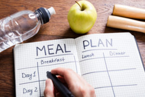 eating disorder recovery meal plan