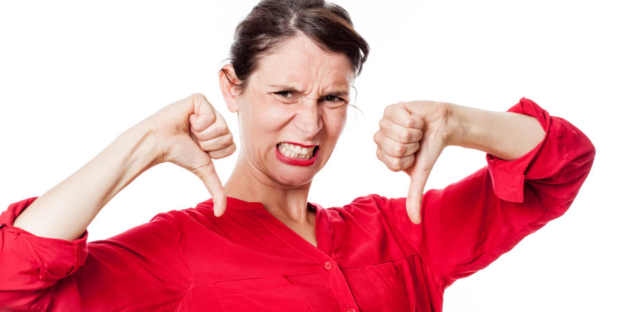 woman angry should prevent jaw clenching